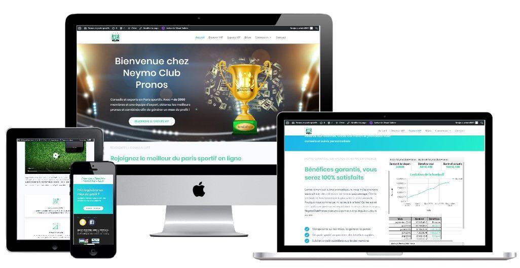 Création Site de paris sportif